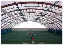 Спортивное сооружение из металлической конструкции (ангар) - фото 3