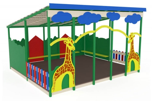 Теневой навес Жираф мини