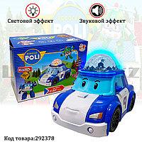 Игрушка детская машинка Робокар Поли Poli Robocar на батарейках со световым и звуковым сопровождением No.767-3