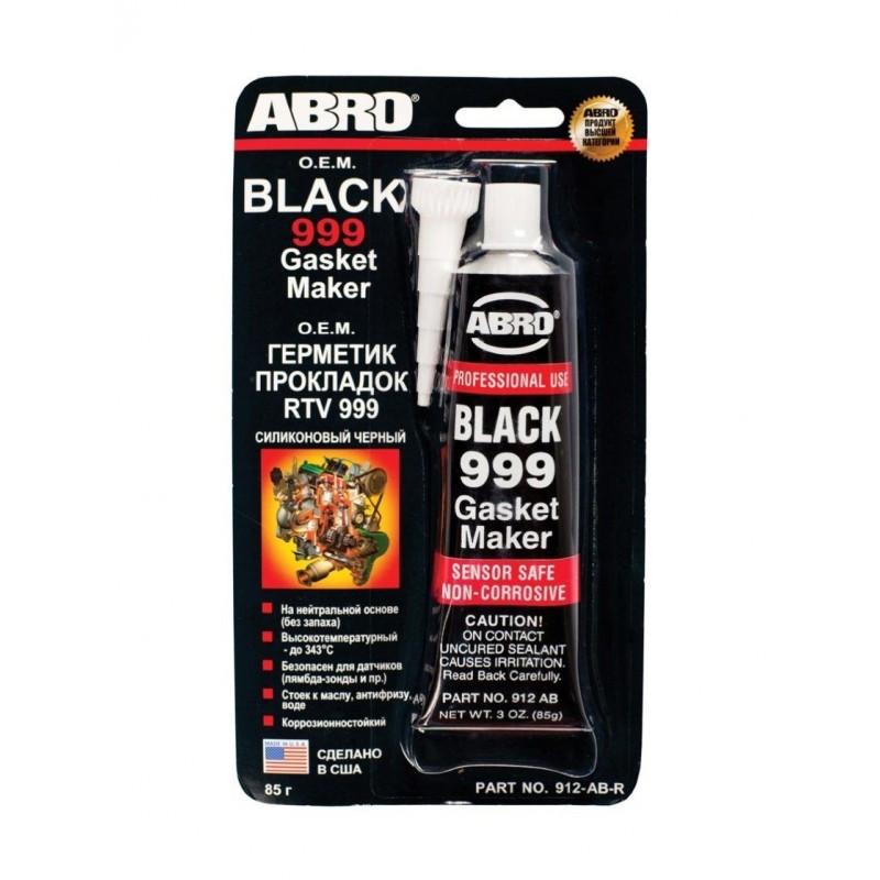 Герметик прокладок ABRO ОЕМ 999 черный США (оригинал) 85г