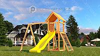 Детская площадка Савушка Мастер 7, с песочницей, сеткой-лазалкой., фото 1