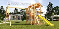 """Детская площадка Савушка Мастер 2, с качелями """"Гнездо""""., фото 1"""