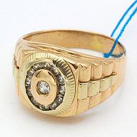 Печатка золотое кольцо 585 проба