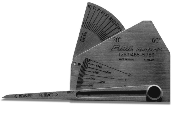 CAT 9C SKEW-T GAUGE STANDARD OR METRIC