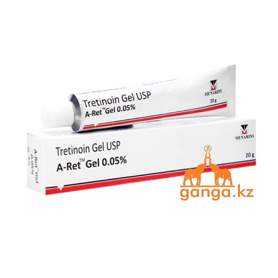 Ретин-А Третинион Гель 0.05% (A-Ret Tretinion Gel U.S.P.), 20 г.
