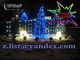Cветодиодные уличные 3D фигуры акриловые светящиеся, Светодиодные фигурки, фото 2