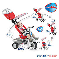 SMARTRIKE Велосипед Smartrike Recliner/Boutique Red/Grey -