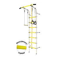 Шведская стенка DSK Пристенный (с массажными ступенями) с регулировкой