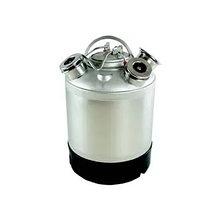 Емкость металлическая для промывки на 3 фитинга , 9л (без фитингов)