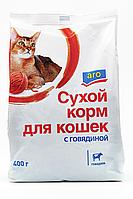 Сухой корм Aro для кошек говядина 400г