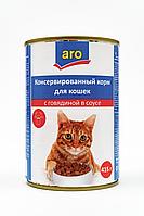 Корм Aro для кошек 415г