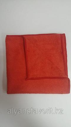 Тряпочка (салфетка) универсальная, микрофибра (ворсовая) 40*40 см., фото 2