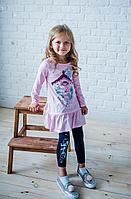 Batik Комплект футболка и брюки для девочки (00160_BAT)