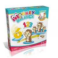 Настольная игра monkey balance, учимся считать