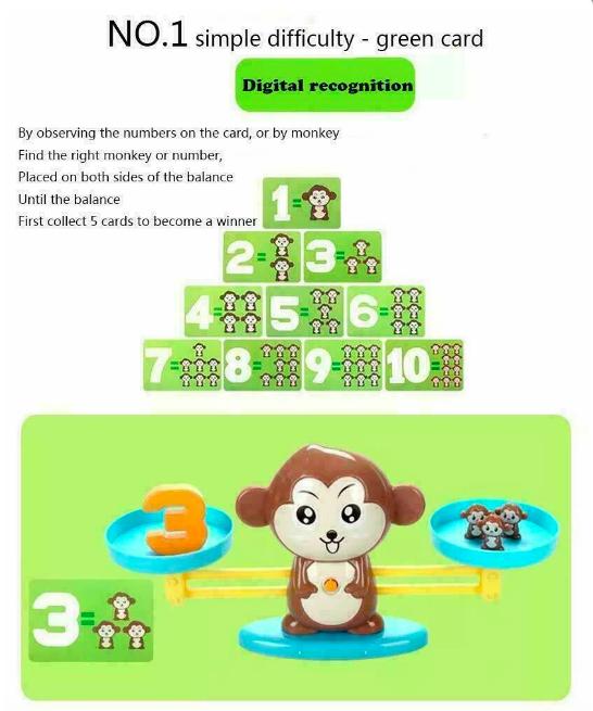 Настольная игра monkey balance, учимся считать - фото 2