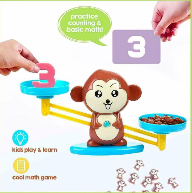 Настольная игра monkey balance, учимся считать - фото 4