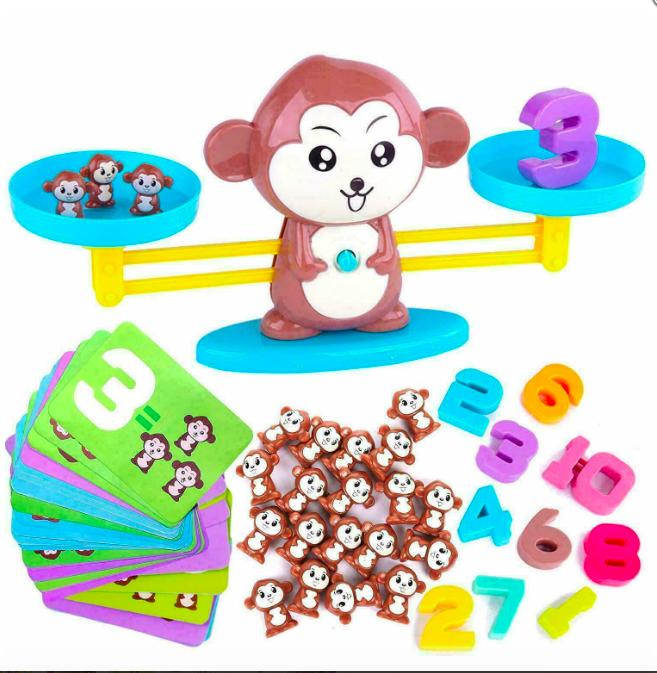 Настольная игра monkey balance, учимся считать - фото 6