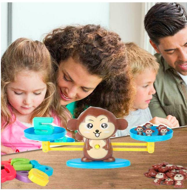 Настольная игра monkey balance, учимся считать - фото 7