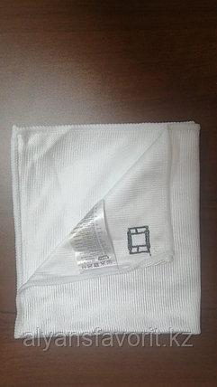 Тряпочка (салфетка) микрофибра для стекл и зеркал  35*35 см. гладкая ., фото 2