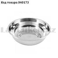 Миска кухонная из нержавеющей стали без крышки круглая маленькая диаметр 14,5 см