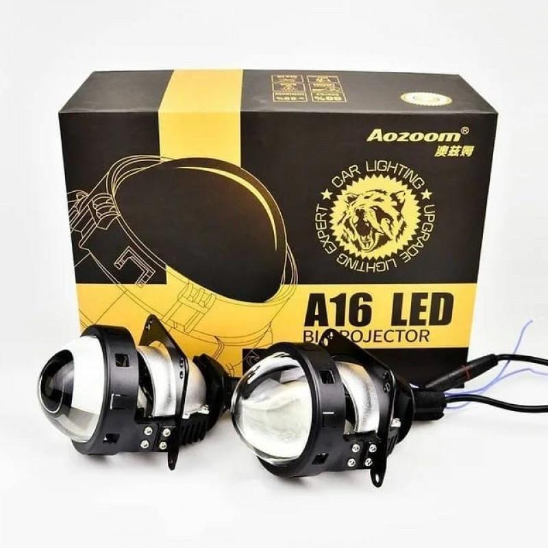 Линзы автомобильные BI-LED Aozoom A16