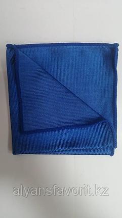 Тряпочка (салфетка) микрофибра для стекл и зеркал 30*30 см. гладкая, фото 2