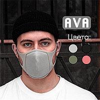 Защитная двухслойная маска Ava многоразовая