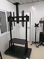 """Стойка мобильная для телевизора, диагональ 42-140"""", вес нагрузки до 130 кг."""