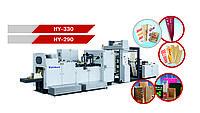 Оборудование для изготовления бумажных пакетов с V-образным и прямоугольным дном