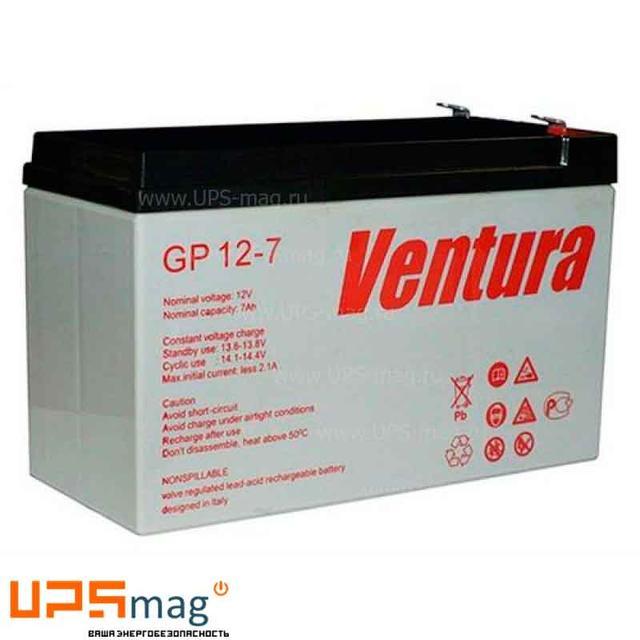 Аккумуляторные батареи Ventura GP