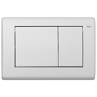 Панель смыва TECE Planus с двумя клавишами (белая матовая) 9240322