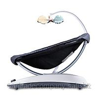 Кресло-качалка 4moms RockaRoo( Gray Mesh ,Серебристая), фото 3