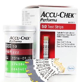 Акку-чек Performa  №50 Тест - полоски