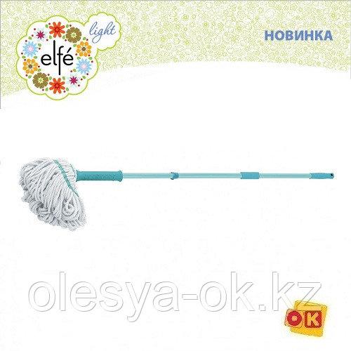 Швабра отжимная скручиванием 120 см. ELFE 93509
