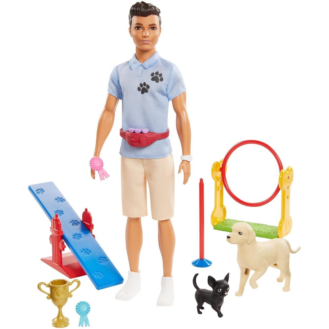 """Barbie """"Профессии"""" Кукла Кен - Кинолог, Барби Кем быть?"""