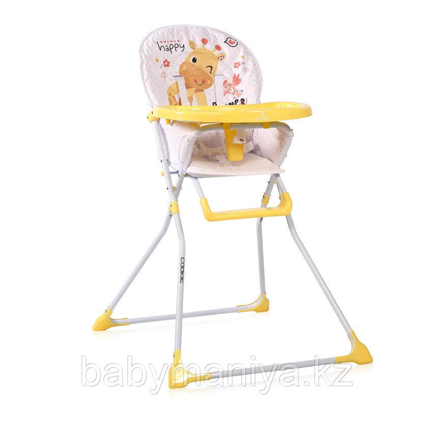 Стульчик для кормления Lorelli Cookie Желтый / Yellow GIRAFFE 2035