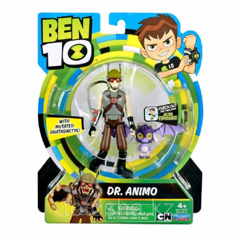 """Ben 10 """"Доктор Энимо"""" фигурка 12.5 см, 76113"""