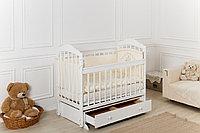 Кроватка детская Incanto Pali с универсальным маятник и ящиком белый