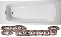 Акриловая ОБРЕЗНАЯ ванна Прагматика 193-170x80х63 см. 1 Marka. Россия