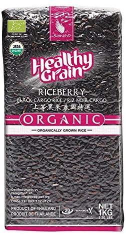 Черный Рис Riceberry Healthy Grain