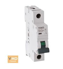 Автомат 4VTB-1C06 1P 6A 4,5KA B-C (VIKO)