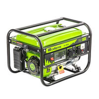 Генератор бензиновый БС-2800, 2,5 кВт, 230В, четырехтактный, 15 л, ручной стартер Сибртех, фото 1