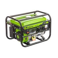 Генератор бензиновый БС-2500, 2,2 кВт, 230В, четырехтактный, 15 л, ручной стартер Сибртех