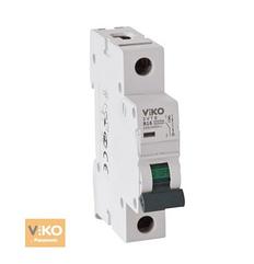 Автомат 4VTB-1C50 1P 50A 4,5KA B-C (VIKO)