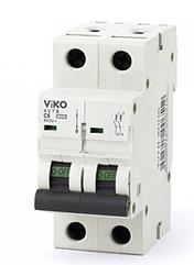 Автомат 4VTB-2C20 2P 20A 4,5KA B-C (VIKO)