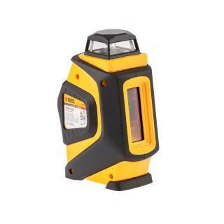 Уровень лазерный LX360, 20 м, ± 0,3 мм/1 м, горизонтальная и вертикальная, 360 град, 635 нм, резьба 1/4 Denzel