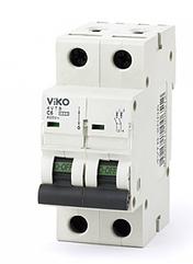 Автомат 4VTB-2C40 2P 40A С 4,5KA B-C (VIKO)