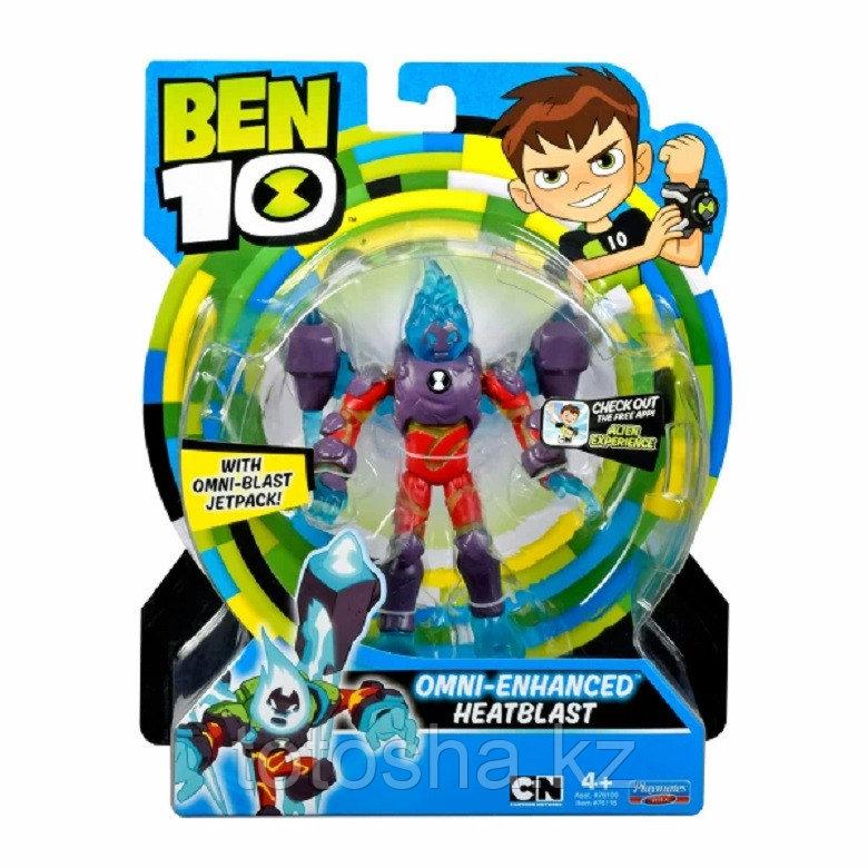 """Ben 10 """"Человек-огонь (омни-усиленный)"""" фигурка 12.5 см, 76116"""