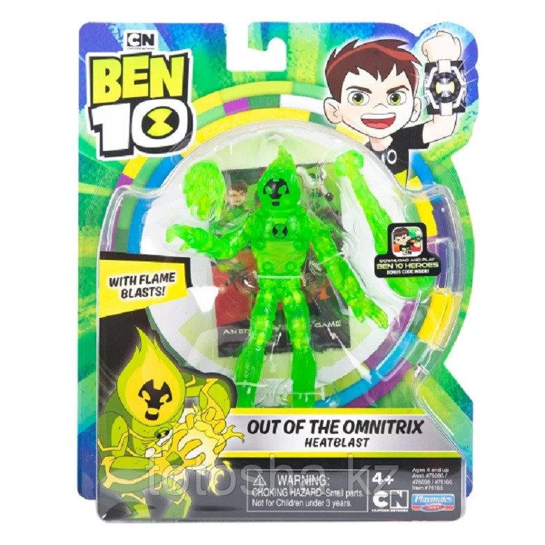 """Ben 10 """"Человек-огонь из Омнитрикс"""" фигурка 12.5 см, 76155"""