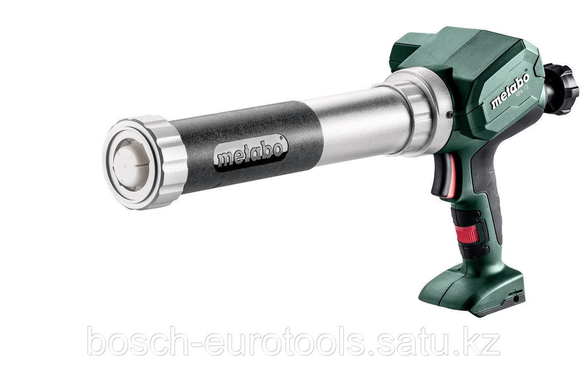 Metabo KPA 12 400 Аккумуляторный пистолет для герметика